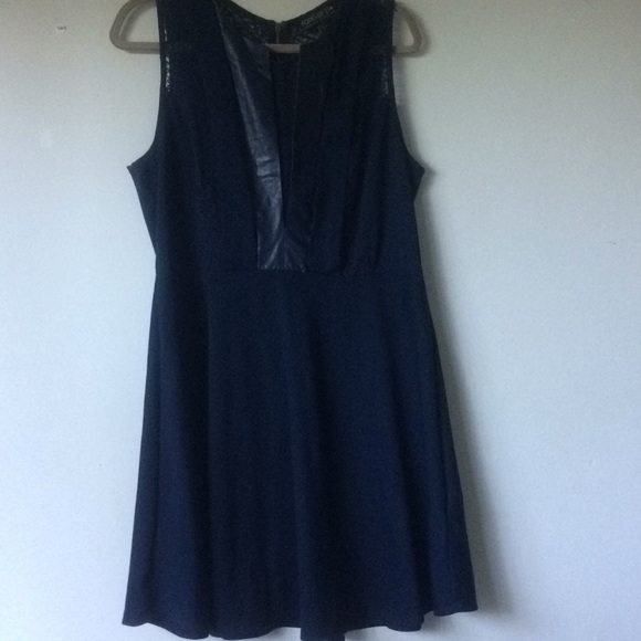 Forever 21 Dresses Navy Blue Fit And Flare Plus Size Dress Poshmark